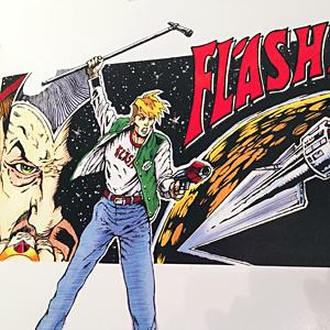 digital super tabloid flash poster
