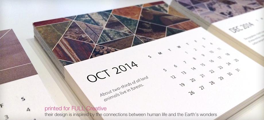 digital print calendar